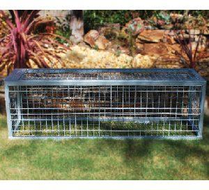 large water meter cage